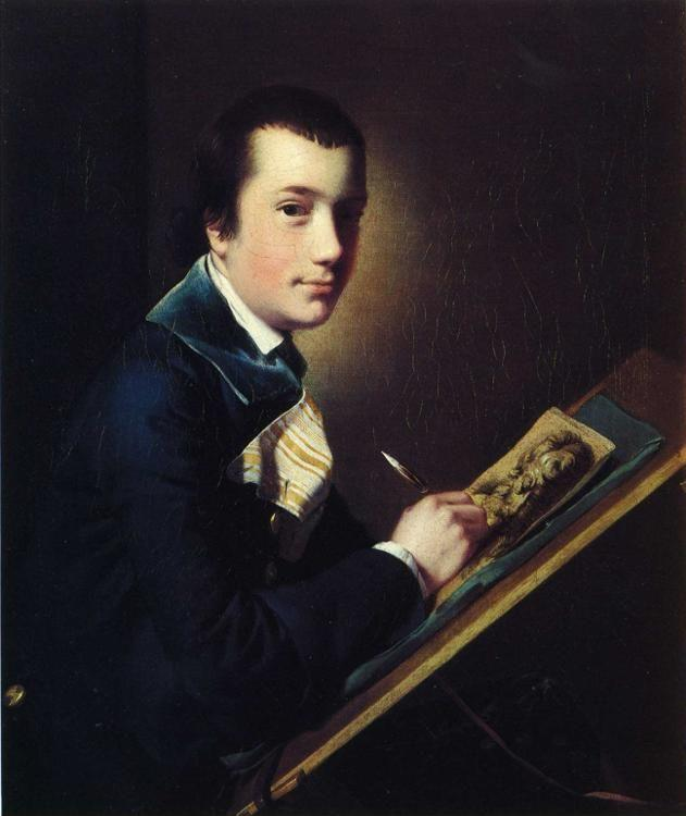 Joseph Wright of Derby. Samuel Rastall.