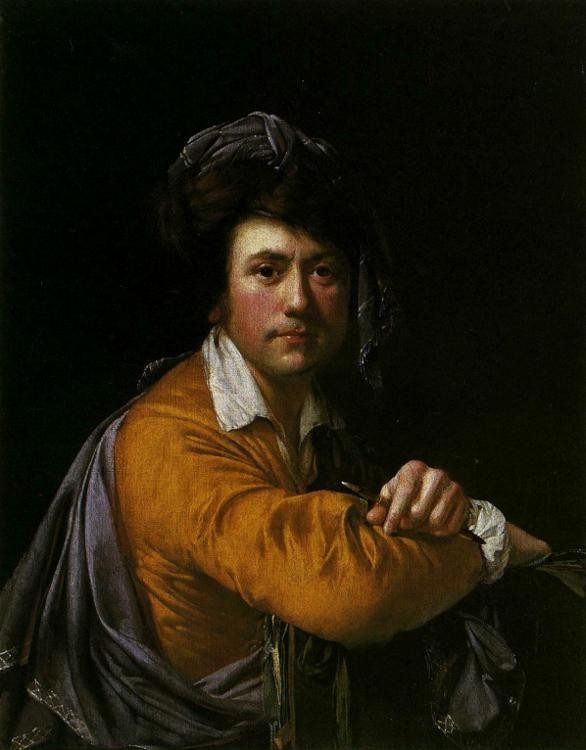 Joseph Wright of Derby. Self-Portrait at the Age of About Forty.