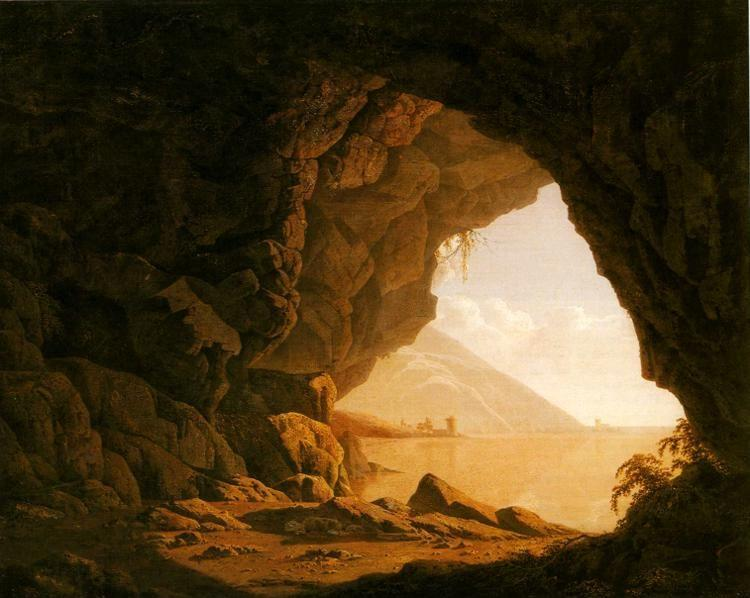 Joseph Wright of Derby. A Cavern, Morning.