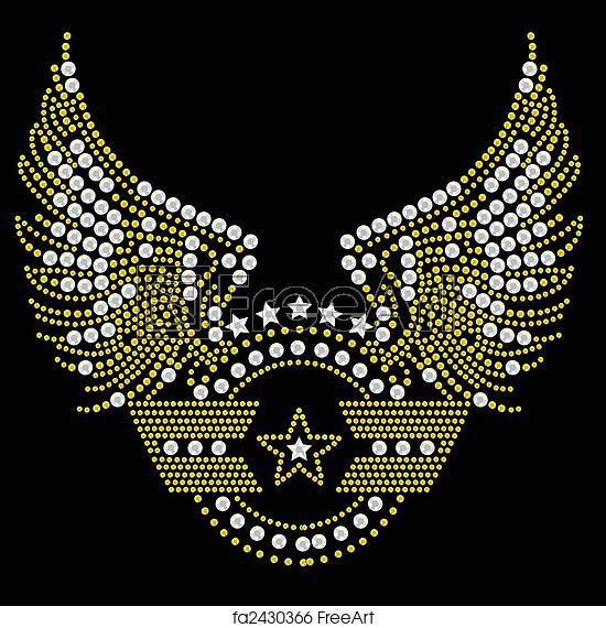 Free art print of Military symbol artwork